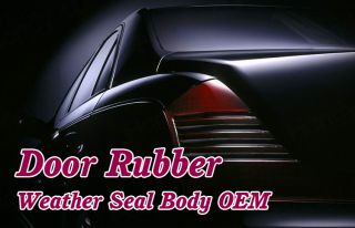 "120"" Universal Car Door Rubber Seal Strip Weather Stripping Edge Trim 06"