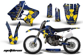 AMR Racing Dirt Bike Motocross Decal Sticker Wrap Yamaha YZ 125 250 93 95 Mdyu