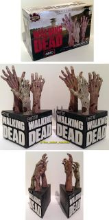 Gentle Giant AMC's The Walking Dead TV Series Zombie Arm Bookends Book End Set