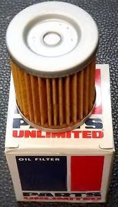 New Parts Unlimited Oil Filter 01 0025 Suzuki Lt 230 250 300 SP 125 200 Oil