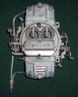 Holley 600 Double Pumper 4 Barrel Carb Carburetor List 4776