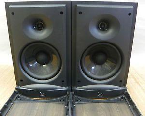 Pair of Infinity RS1 Bookshelf Speakers Black Very Good Condition Work Great