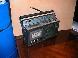 Vintage Sony CFM 23 Boombox Am FM Radio Cassette Player Working