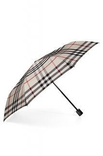 Trench Check Folding Umbrella by BURBERRY LONDON