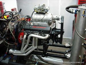 Small Block Chevy Engine 383CI 600 HP Blown Pro Street Complete Built to Order