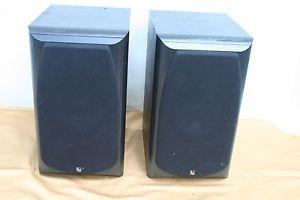 Infinity System Bookshelf Speakers Alpha 20 Black
