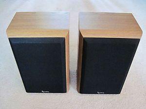 Infinity Reference One Speakers Pair High End 2 Way Bookshelf Speakers