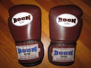 Boon Sparring Boxing Gloves 16oz Muay Thai Boxing Hayabusa Winning Venum