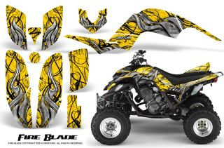 Yamaha Raptor 660 Graphics Kit Creatorx Decals Stickers FBY