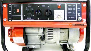 1500W Gas Generator Quiet Starter Recoil 1500 Watts Outdoor 4 Stroke EPA Engine