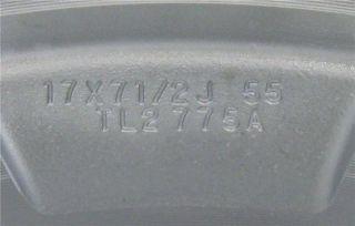 "17"" Chrome Acura TSX Factory OEM Wheels Rims 2009 2011"