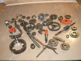 Gravely Garden Tractor Lawn Mower 810 Transmission Gears Shafts Parts Lot