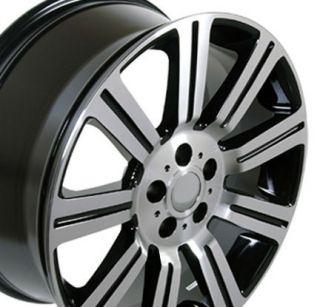 "22"" Black HSE Stormer Wheels Rim Fits Range Land Rover HSE Sport LR3 LR4"