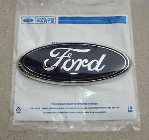 New 2012 2013 Ford F150 Tailgate Back Up Camera Blue Oval Emblem Ford