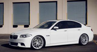 "20"" Avant Garde M510 Wheels Silver BMW 3 Series 325 328 330 335 E90 E92 F30 510"