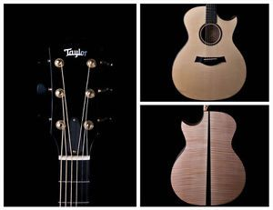 Used Taylor BTO Built to Order Custom Grand Auditorium Acoustic Electric Guitar
