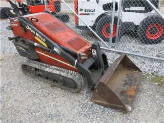 Ditch Witch SK500 Walk Behind Tracked Skid Steer Loader
