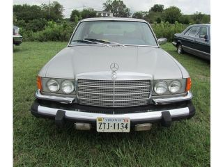 1977 Mercedes Benz 450 Sel No Reserve Dry Storage 10 Years