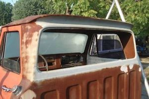 1964 1965 1966 Chevrolet Truck Big Back Window Cab not Rust Free But Useable