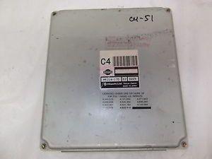 01 Nissan Pathfinder QX4 ECU ECM MEC14 170 E2 Engine Control Module Box CU51