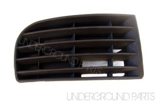 VW Golf MK5 Right Drivers Side Front Bumper Corner Fog Light Grille Cover Trim