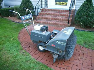 Sweepster Power Broom Street Sweeper Lawn Dethatcher 5HP Honda Engine