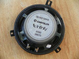 2000 2004 Dodge Dakota Chrysler Infinity Door Radio Speaker 56043108AA