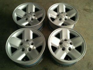 "Set of 4 17x8 17"" Factory Dodge RAM 1500 Aluminum Wheels Rims Stock"