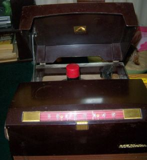 Vintage RCA Victor Radio and Phonograph