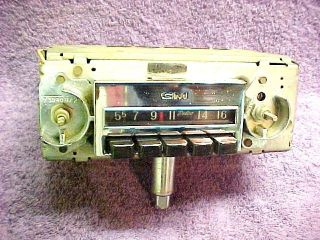 67 72 Chevrolet GMC Truck Radio Works