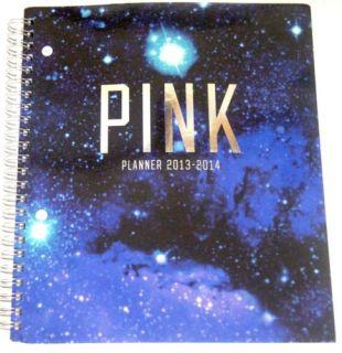 Pink School Planner Organizer Work Calendar 2013 14 Galaxy