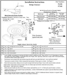 "2011 2012 Dodge Journey Trailer Hitch Wiring Harness Kit Ballmount 2"" Ball"