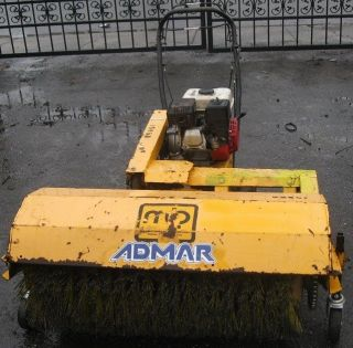 MB WB 36 Walk Behind Gas Sweeper Power Broom 8 5 HP Kohler OHV All Season Engine
