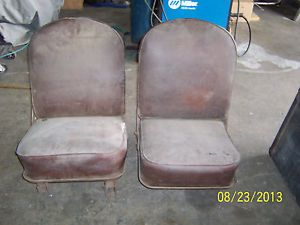 1950 Panel Truck Seats Chevrolet or GMC Original Bucket Seats