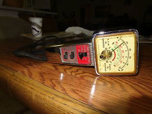 Kal Equip Co Model T 111 Tach and Dwell Meter