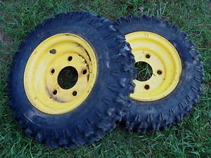 2 John Deere Snowblower Tire 826 5 Lug Sno Hawg 4 8 x 8 1032 726 TRS 8HP Snow
