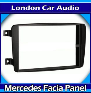 Double DIN Stereo Fascia Panel Adaptor Plate for Mercedes Sprinter Vito C Class