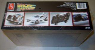 AMT Ertl 6122 Plastic Model Kit Back to The Future DeLorean 1 24 Factory SEALED