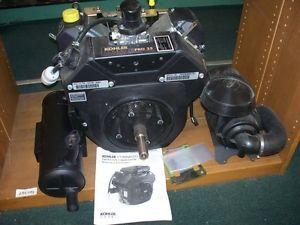 Brand New Complete Kohler 25 HP Twin Engine Model PA CH730 0003 Horiz Shaft