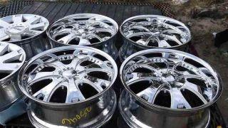 "Aftermarket 20"" Chrome Alloy Wheel Rims 6 Lug from Silverado"
