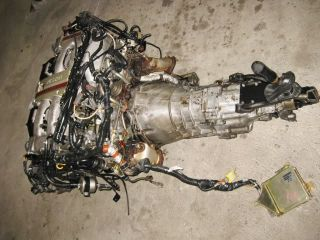 Engine JDM VG30DETT DOHC 3 0L 24 Valve Twin Turbo Nissan 300zx 90 96 Motor VG30
