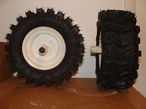 New Carlisle Snowthrower Snowblower Tires Wheels 13x5 00 6  1 Pair