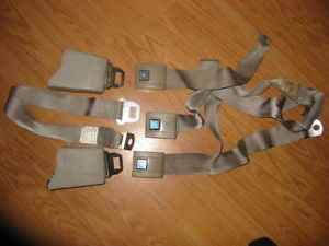 1973 77 Chevy GMC Truck Seat Belts Light Tan Set of 3