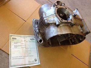 Ducati Bevel 450 RT Desmo Single Engine Motor Cases w Doc No Reserve