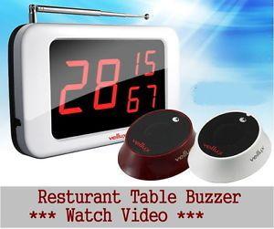 Restaurant Server Pager System