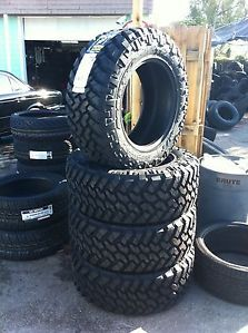 35 12 50 18 Nitto Trail Grappler Offroad Truck Tires New Complete Set Brand New