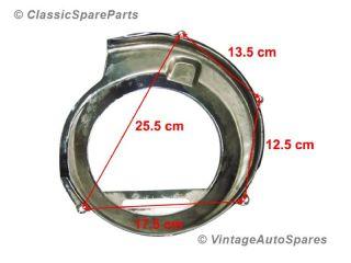New Vespa PX 150E Model Hi Quality Chromed Engine Flywheel Magneto Cowling Cover