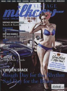 Milkcow Magazine 34 Rat Hot Rod Pinup Rockabilly Culture Deluxe Custom Vtg Style