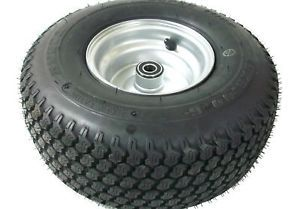 "Go Kart Cart 15x6 6 15"" Super Turf 5 8"" Front Tire Rim Wheel Yerf Dog Minibike"