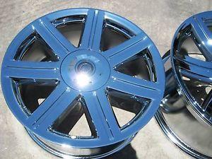 """Set of 4 New 18"""" 19"""" Chrysler Crossfire Factory Chrome Wheels Rims 2229 2230"""